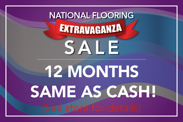 12 months same as cash financing available at Monroeville Floors To Go!