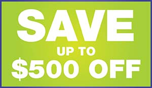 Save up to $500 during our Anniversary Sale going on now at Floors To Go Of Monroeville
