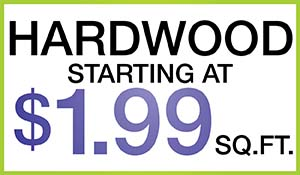 Hardwood Flooring starting at $1.99 sq.ft. during the Anniversary Sale at Floors To Go Of Monroeville