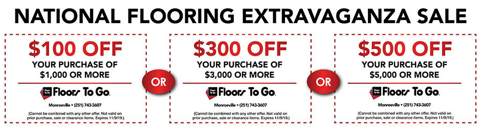Take up to $500 off your purchase with this coupon!!