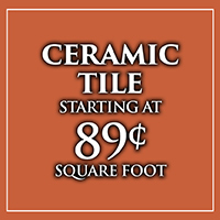 Ceramic tile Fall Home Makeover Sale at Monroeville Floors To Go