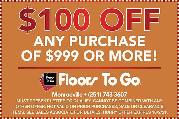 Print this coupon for $100 off any purchase of $999 or more